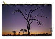 Sunset In Africa Carry-all Pouch
