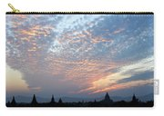 Sunset In Bagan Carry-all Pouch