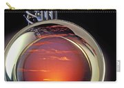 Sunset In Bell Of Sax Carry-all Pouch