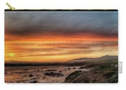 Sunset In Cambria Carry-all Pouch
