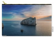 Sunset In Capo Caccia Carry-all Pouch