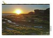 Sunset In Gale Beach. Albufeira, Portugal Carry-all Pouch