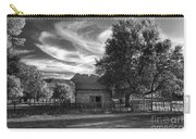 Sunset In Grafton Ghost Town Carry-all Pouch by Sandra Bronstein