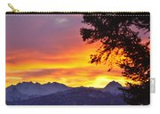 Sunset In Homer Alaska Carry-all Pouch