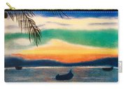 Sunset In Manuel Antonio  Carry-all Pouch