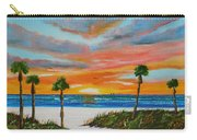 Sunset In Paradise Carry-all Pouch by Lloyd Dobson