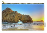Sunset In Pfeiffer Beach Carry-all Pouch