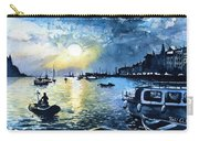 Sunset In Rovinj Croatia Carry-all Pouch
