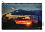 Sunset In Santa Fe Carry-all Pouch