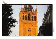 Sunset In Seville - A View Of The Giralda Carry-all Pouch