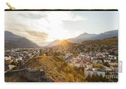 Sunset In Sion Carry-all Pouch