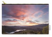 Sunset In Siurana, Spain Carry-all Pouch