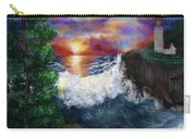 Sunset In The Cove Carry-all Pouch