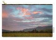 Sunset In The Mountains Carry-all Pouch