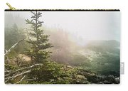 Sunset In The Pine Forest Carry-all Pouch