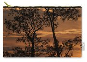 Sunset In The Pine Woods Carry-all Pouch