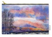 Sunset In The Rockies Carry-all Pouch