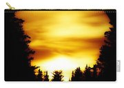 Sunset In The Round Carry-all Pouch