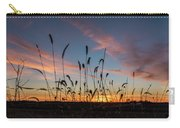 Sunset In The Weeds Carry-all Pouch