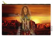 Sunset Indian Chief Carry-all Pouch
