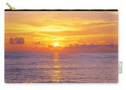 Sunset, Indian Rocks Beach, Florida, Usa Carry-all Pouch