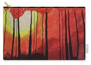 Sunset Into The Forest Carry-all Pouch