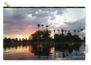 Sunset Island In Chaparral Lake Horizontal  Carry-all Pouch