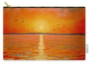 Sunset Carry-all Pouch by John  Nolan