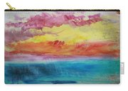 Sunset Lagoon Carry-all Pouch