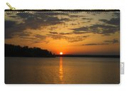 Sunset Lake Pat Mayse From Sanders Cove Carry-all Pouch