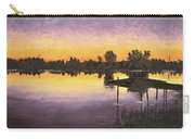 Sunset At Ryba Lake Carry-all Pouch