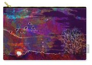 Sunset Landscape Lake Sky  Carry-all Pouch