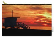Sunset Lifeguard Station Series Carry-all Pouch