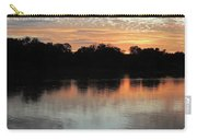 Sunset, Luangwa River, Zambia Carry-all Pouch