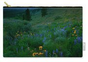 Sunset Meadow Trail Carry-all Pouch