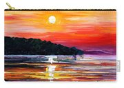 Sunset Melody Carry-all Pouch