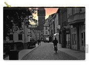 Sunset Of Castle Church Carry-all Pouch