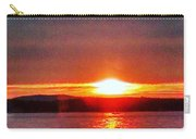 Sunset On A Yacht  Carry-all Pouch