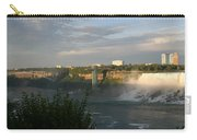 Sunset On American Falls 2 Carry-all Pouch
