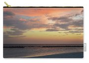 Sunset On An Idyllic Island In Maldives Carry-all Pouch