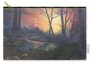 Sunset On Cannock Chase  Carry-all Pouch