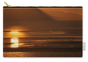 Sunset On Coast Of North Wales Carry-all Pouch