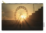 Sunset On Daytona Beach Carry-all Pouch
