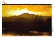 Sunset On Golden Ponds Carry-all Pouch