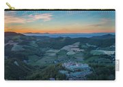 Sunset On Hills Carry-all Pouch