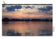 Sunset On Lake Mattoon Carry-all Pouch