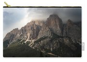 Sunset On Mighty Mountain Carry-all Pouch