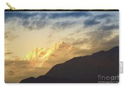 Sunset On Mount Kanchenjugha At Dusk Sikkim Carry-all Pouch