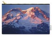 1m4876-sunset On Mt. Rainier  Carry-all Pouch