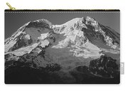 1m4876-bw-sunset On Mt. Rainier Bw  Carry-all Pouch
